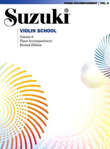 9781470619428: Suzuki Violin School, Vol 8: Piano Acc.