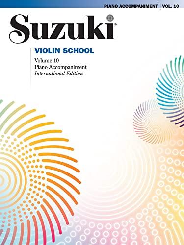 9781470619442: Suzuki Violin School, Vol 10: Piano Acc.