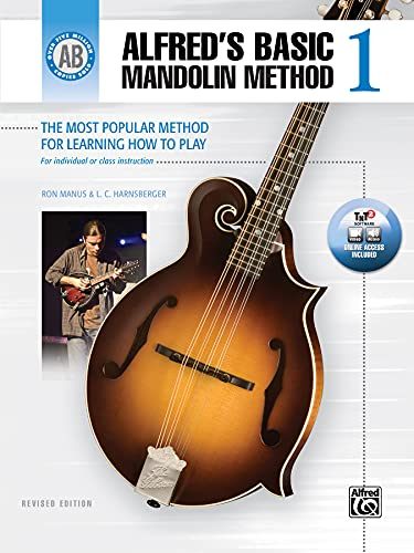 9781470619862: Alfred's Basic Mandolin Method 1: The Most Popular Method for Learning How to Play (Alfred's Basic Mandolin Library)