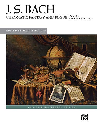 Chromatic Fantasy and Fugue, Bwv 903 (Alfred: Bischoff, Hans