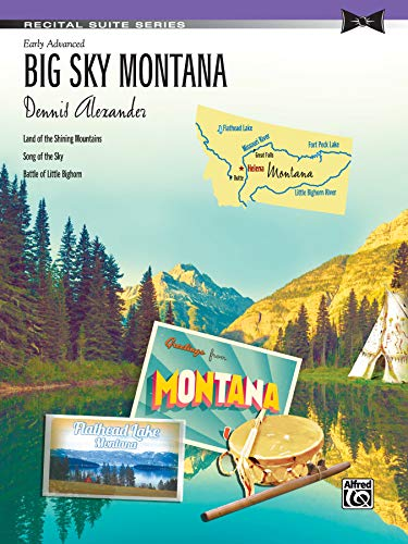 Big Sky Montana: Sheet (Recital Suite Series): n/a