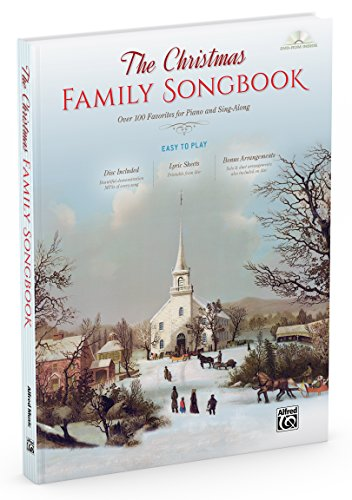 The Christmas Family Songbook (Book & DVD-ROM): Alfred Music