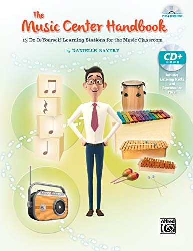 9781470623883: The Music Center Handbook: 15 Do-It-Yourself Learning Stations for the Music Classroom, Book & Enhanced CD