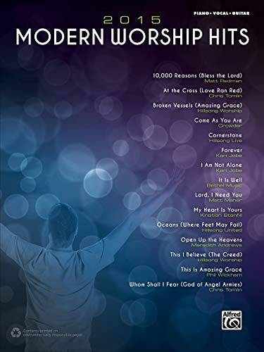 9781470623951: 2015 Modern Worship Hits: Piano/Vocal/Guitar