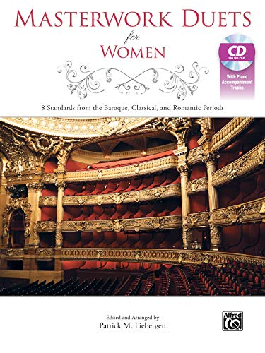 9781470626631: Masterwork Duets for Women: 8 Standards from the Baroque, Classical, and Romantic Periods, Book & CD
