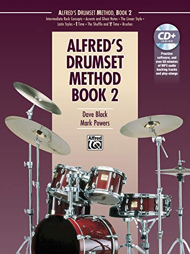 9781470627010: Alfred's Drumset Method, Bk 2: Book & CD