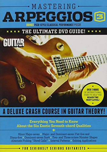 9781470627058: Mastering Arpeggios: A Deluxe Crash Course in Guitar Theory