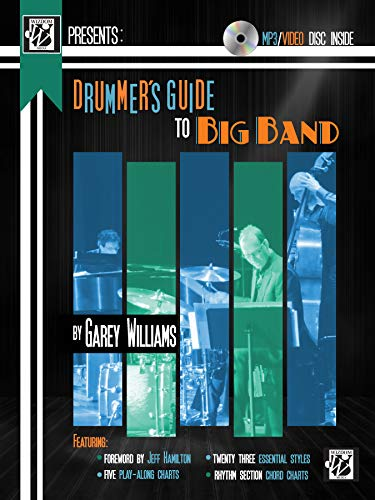 9781470627140: Drummer's Guide to Big Band: Book & DVD (Wizdom Media)