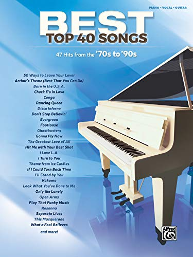 70s to '90s: 51 Hits from the '70s to '90s (Piano/vocal) (Best Top 40 Songs)