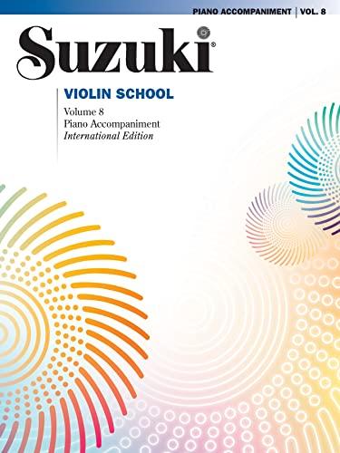9781470627492: Suzuki Violin School, Vol 8: Piano Acc.