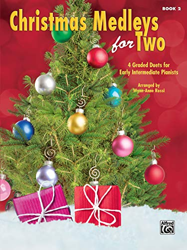 9781470629601: Christmas Medleys for Two, Bk 2: 4 Graded Duets for Early Intermediate Pianists