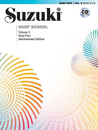 9781470629731: Suzuki Harp School, Vol 5: Harp Part, Book & CD