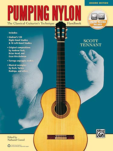 9781470631383: Pumping Nylon: The Classical Guitarist's Technique Handbook, Book & Online Audio