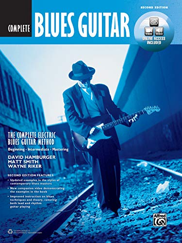 9781470632090: The Complete Blues Guitar Method Complete Edition: Book, DVD & Online Audio & Video (Complete Method)