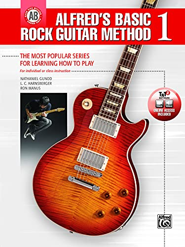 Alfred's Basic Rock Guitar Method, Bk 1: The Most Popular Series for Learning How to Play, ...