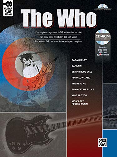 9781470632489: The Who Guitar Play-Along: Guitar TAB (Book & CD-ROM)
