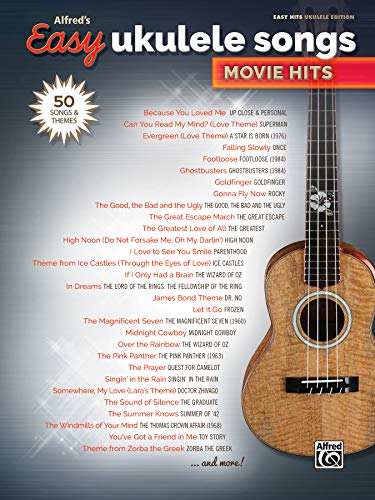 Alfred's Easy Ukulele Songs -- Movie Hits: Alfred Music