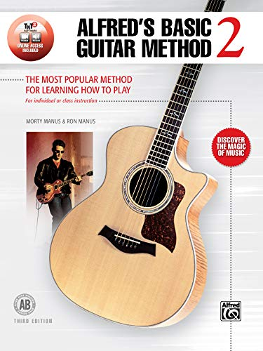 9781470659776 - Morty Manus: Alfreds Basic Guitar Method, Bk 2: The Most Popular Method for Learning How to Play (Book & Online Audio) (Alfreds Basic Guitar Library) - Book