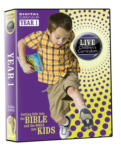 9781470711603: LIVE Children's Curriculum Year 1 Pack: Getting Kids into the Bible and the Bible into Kids