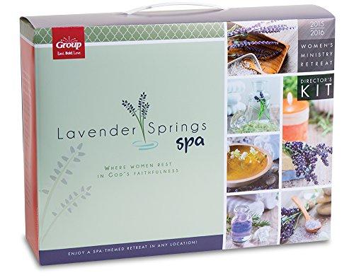 Lavender Springs Spa Women s Retreat Kit: Where Women Rest in God s Faithfulness (Hardback): Group ...