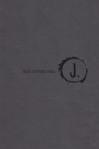 9781470726881: Jesus-Centered Bible NLT, Charcoal