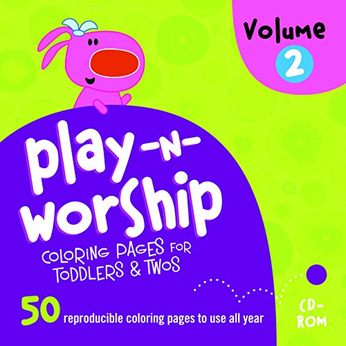 9781470731984: Play-n-Worship: For Toddlers & Twos Coloring Pages Volume 2