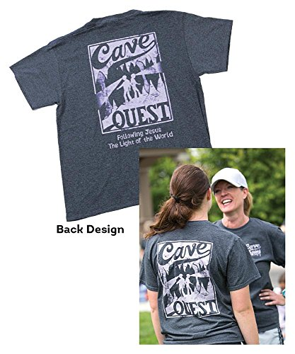 9781470732493: Cave Quest Staff T-Shirt Med 38-40