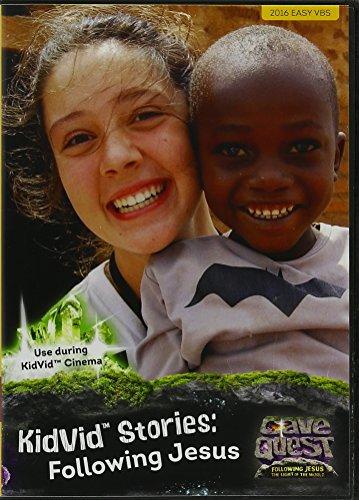 9781470733650: Cave Quest KidVid Stories: Following Jesus DVD