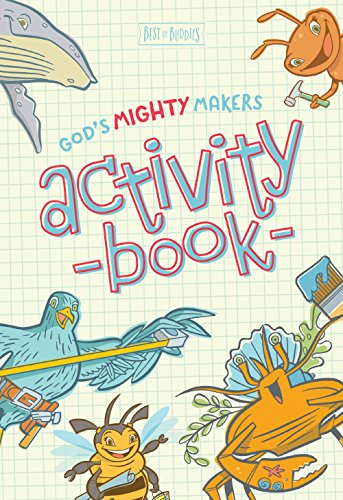 9781470748494: God's Mighty Makers Activity Book (Best of Buddies)