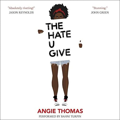 The Hate U Give 9781470827137 [Young Adult Fiction (Ages 12-17)] [Read by Bahni Turpin] The Hate U Give is a groundbreaking, thought-provoking debut novel inspired by