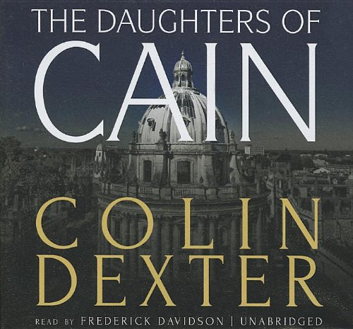The Daughters of Cain: Colin Dexter