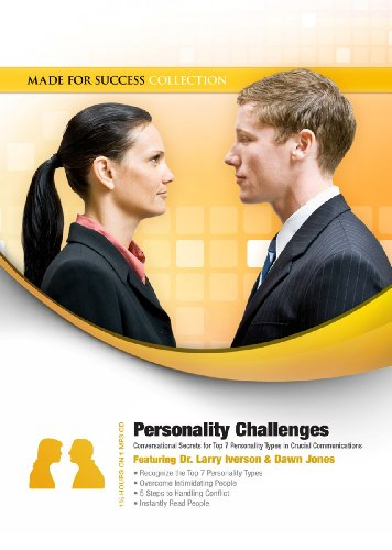 9781470845193: Personality Challenges: Conversational Secrets for Top 7 Personality Types in Crucial Communications (Made for Success Collection)