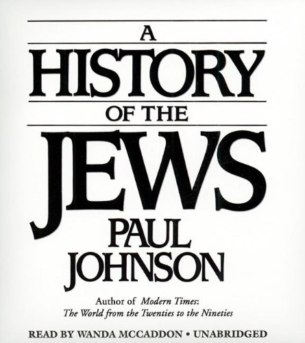 A History of the Jews: Paul Johnson
