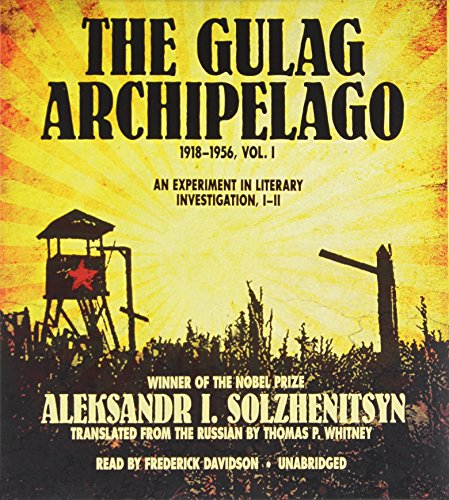 9781470887643: The Gulag Archipelago, 1918-1956: An Experiment in Literary Investigation, I-II