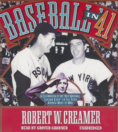 "Baseball in '41: A Celebration of the ""Best Baseball Season Ever"" - In the Year ..."