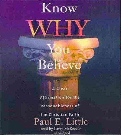 9781470889210: Know Why You Believe