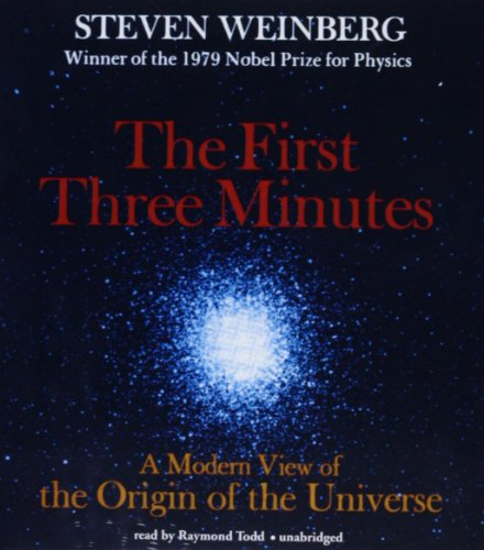 9781470890544: The First Three Minutes: A Modern View of the Origin of the Universe