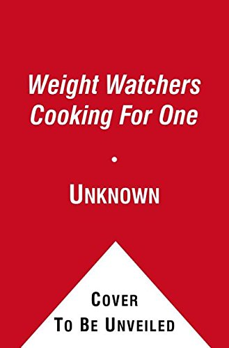 9781471100796: Weight Watchers Cooking for One