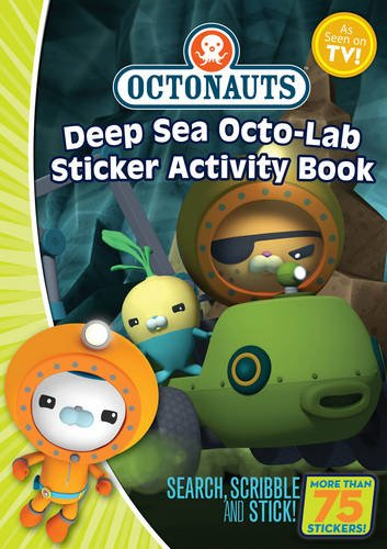 9781471118661: Octonauts Deep Sea Octo-Lab Sticker Activity book