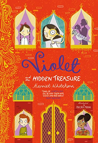 Violet and the Hidden Treasure: Whitehorn, Harriet