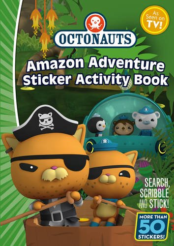 9781471120657: Octonauts: Amazon Adventure Sticker Book