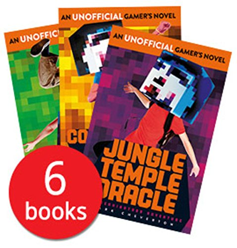 9781471158490: Minecraft An Unofficial Gamer's Novel - Gameknight999 Adventure Series X 6 Books Collection Set By Mark Cheverton