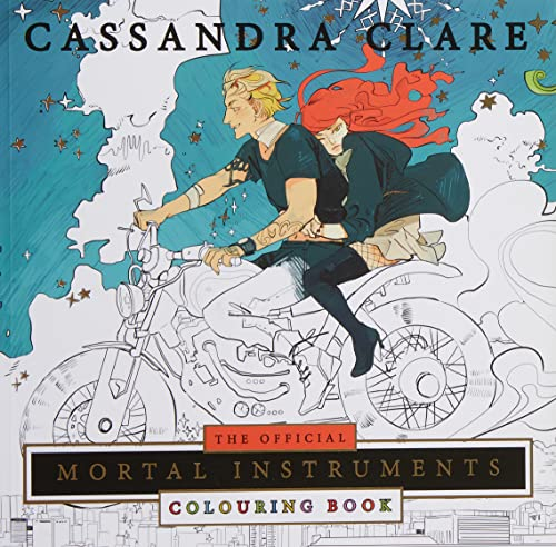 9781471162213: The Mortal Instruments. Colouring Book (Colouring Books)