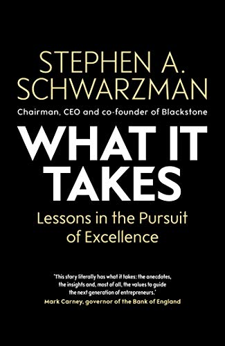 9781471189555: What It Takes: Lessons in the Pursuit of Excellence