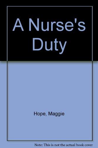 9781471312885: A Nurse's Duty