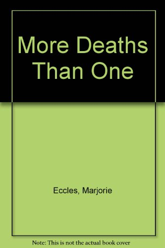 9781471313769: More Deaths Than One