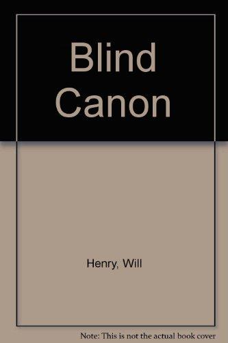9781471326547: Blind Canon