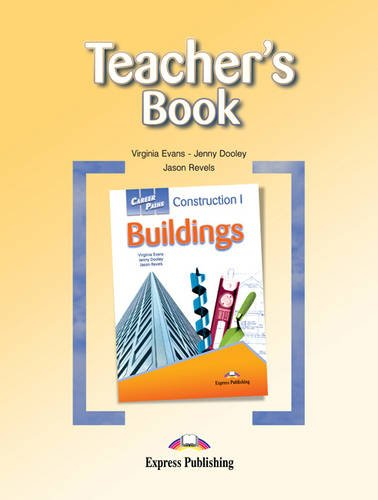 9781471500374: Career Paths: Construction I Buildings (international): Teacher's Book
