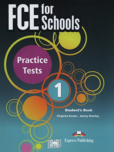 9781471526398: FCE for Schools Practice Tests 1 Students Book
