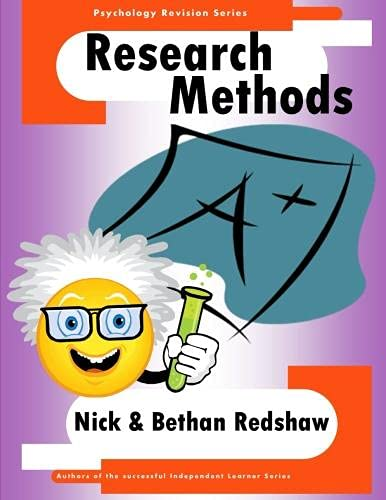 9781471681875: The Psychology Revision Series - Research Methods